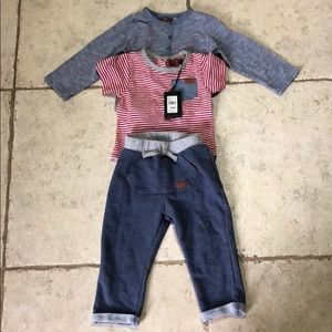 7 for all mankind 18 month boy 3 piece set